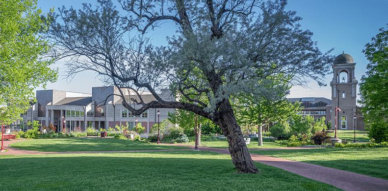 The DU campus