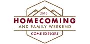 Homecoming 2016 logo
