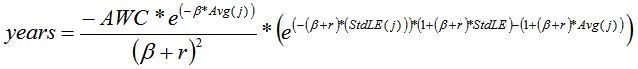 YLL equation