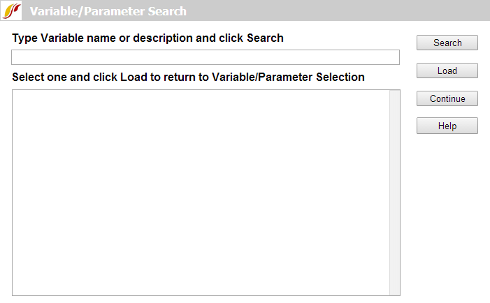variable search