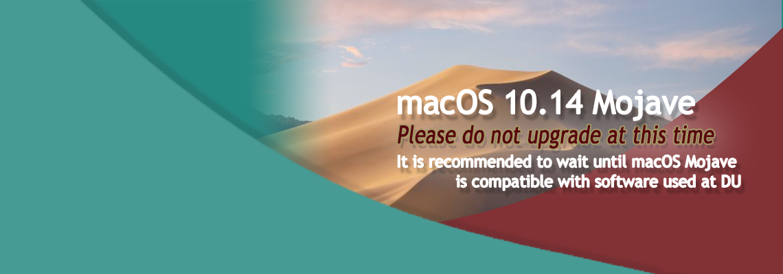 Do not upgrade to macOS 10.14 Mojave