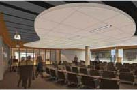 Anderson Academic Commons event space