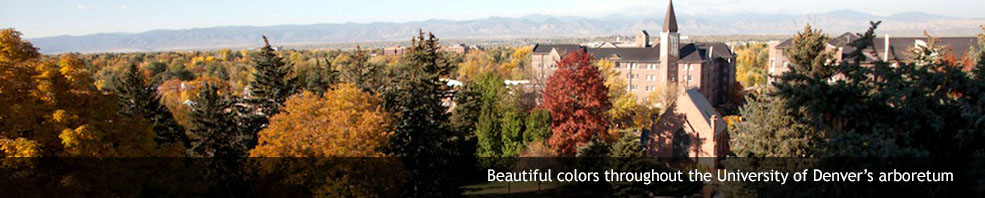 DU's fall colors