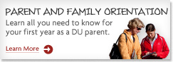 Parent and Family Orientation Link