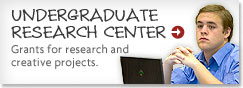 Learn more about the Undergraduate Research Center