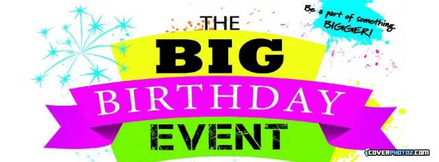 The Big Birthday Event