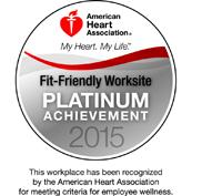 AHA Platinum award