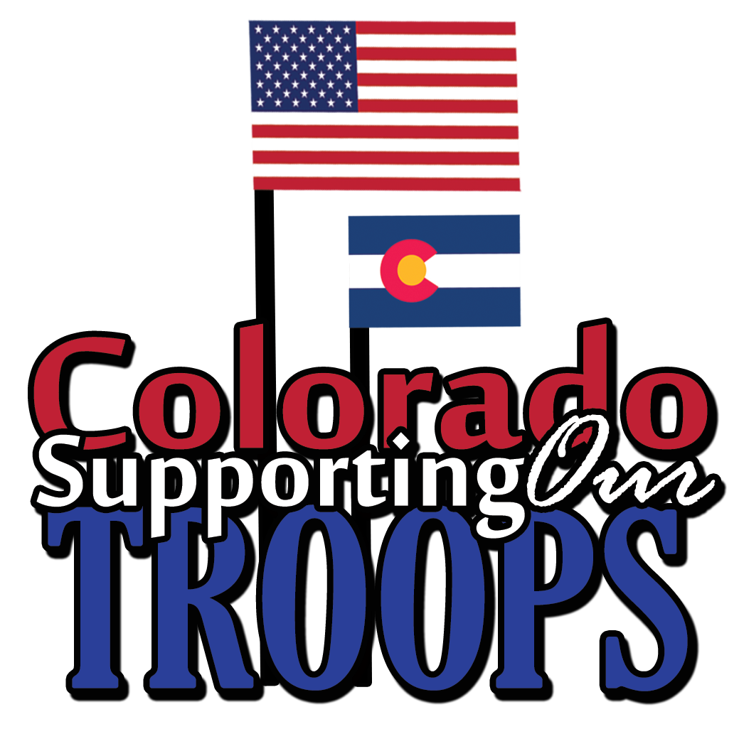 Colorado Supporting our Troops logo