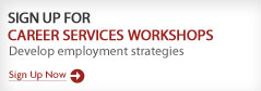 Register for Career Services Workshops