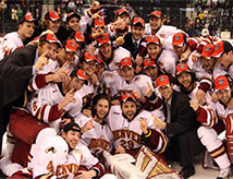 DU Hockey team