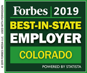 2019 Forbes Best-In-State Employer Colorado image