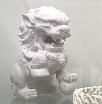 3-D printed artifact image