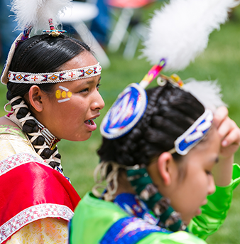 Native American students at the University of Denver.