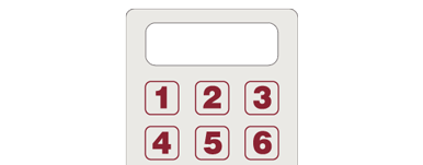 image of gray calculator