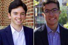 DU Students Zach Marshall and Andres Pulido