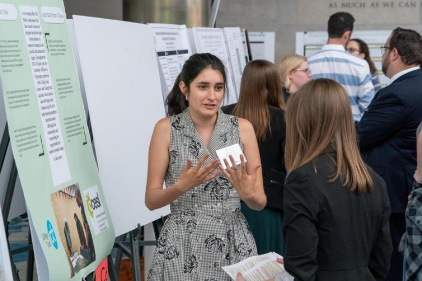 Undergraduate Research and Scholarship Symposium Photo Courtesy: Wayne Armstrong, University of Denver