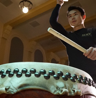 Drummers Teach Students