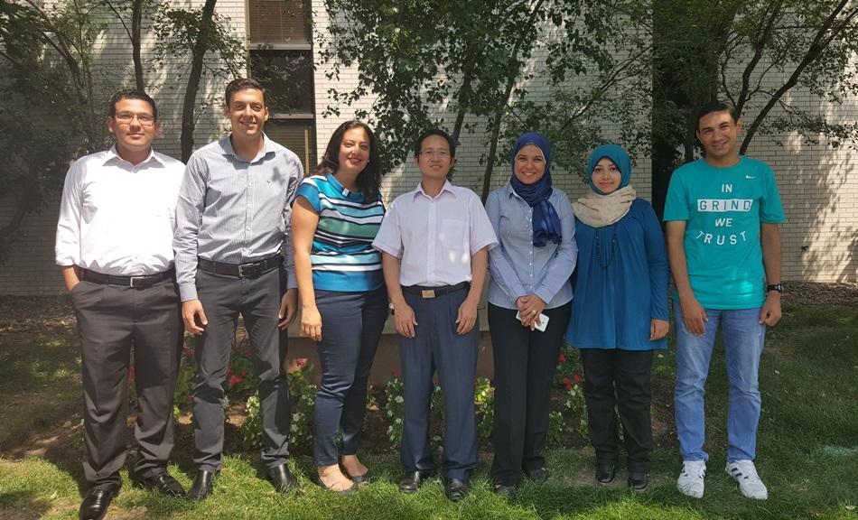 Egyptian Fulbright scholars