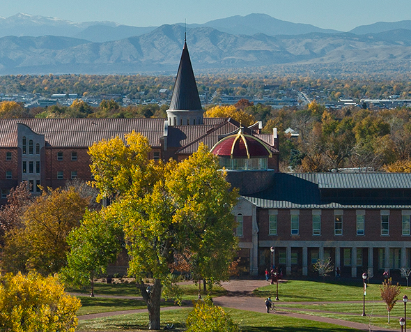 The University of Denver campus.