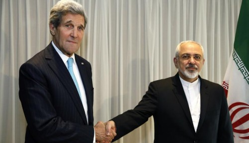 John Kerry and Javad Zarif
