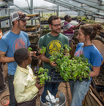University of Denver students lead sustainable efforts in the community.