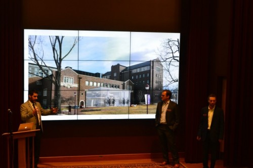 Speaker Presenting at Marcus Commons Re-Imagining