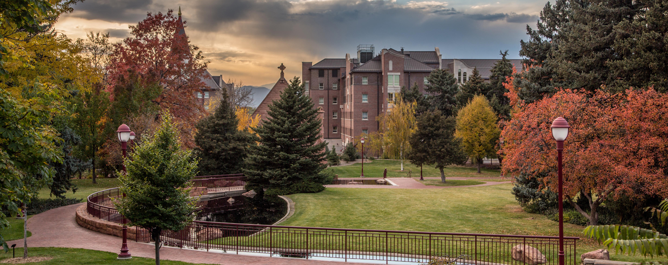 fall picture of campus