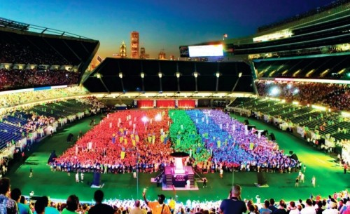 Gay Games opening ceremonies