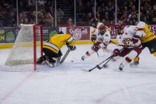 DU Men's Hockey scoring on CC