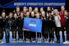 Gymnastics wins NCAA Regionals