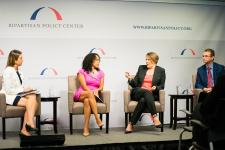 Jennifer Greenfield on a panel at Bipartisan Policy Center