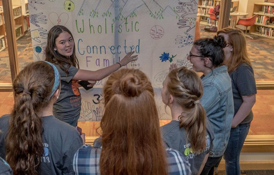 Living and Learning Communities turn dorm life, a crucial element of the first year college experience, into an opportunity for hands-on study and engagement