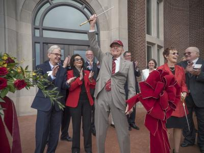 Engineering and Computer Science Building Opening