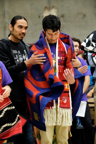 Murdock blanket ceremony