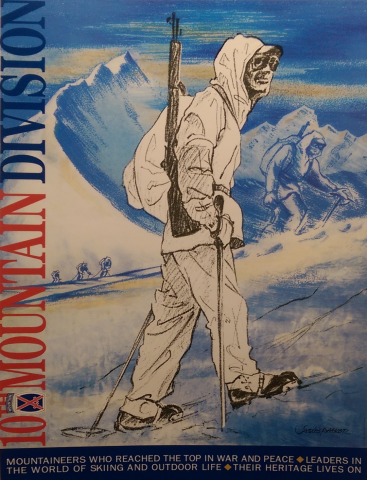 Military Mountaineer Exhibit