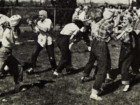 1952 Homecoming Food Fight