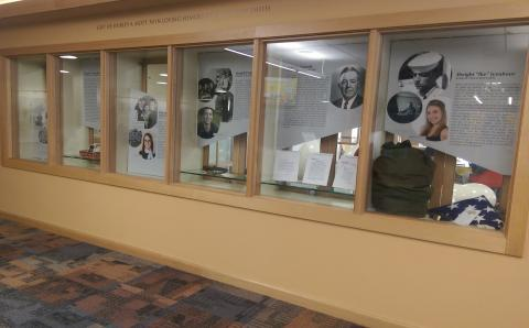 Veterans Legacy Exhibit Display Case