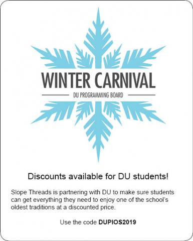 Winter Carnival partnership