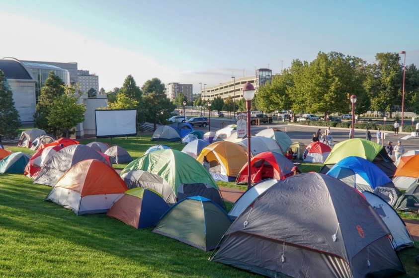 2018 Student Camp Out