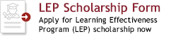 LEP Tutor Evaluation button - Apply Now