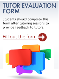 Tutor Evaluation Form