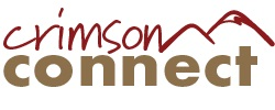 CrimsonConnect student engagement platform wordmark