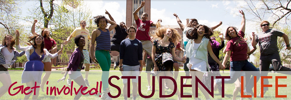 Student Life: Get Involved!