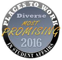 2016 Most Promising Places to Work in Student Affairs